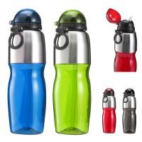 Gourde Sport 800 ml Personnalisée coloris : noir, bleu, rouge, vert