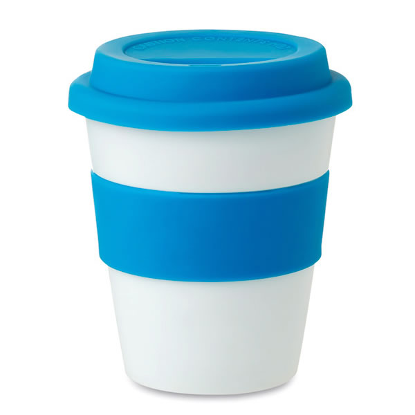 tasse de voyage 350 ml objet publicitaire gourde mug isotherme goodies personnalis. Black Bedroom Furniture Sets. Home Design Ideas
