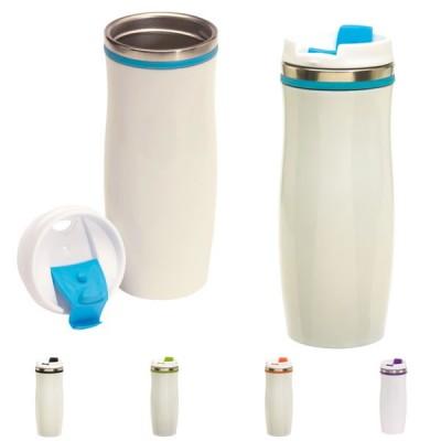 Mug de voyage isotherme personnalisé 400 ml