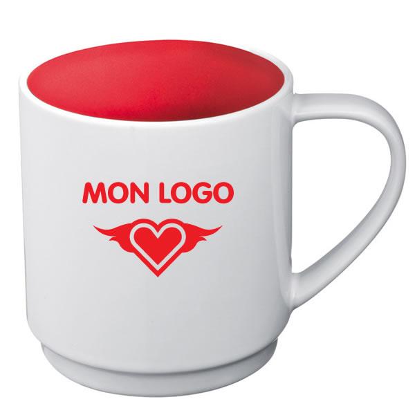 tasse blanche pas cher mug personnalis tasse en cramique. Black Bedroom Furniture Sets. Home Design Ideas
