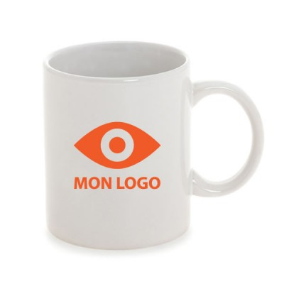 mug personnalis blanc objet publicitaire gourde mug. Black Bedroom Furniture Sets. Home Design Ideas