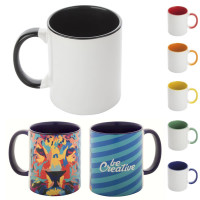 Mug personnalisable en sublimation logo quadri photographie