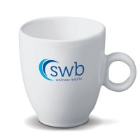 Tasse à café personnalisée blanche Genève