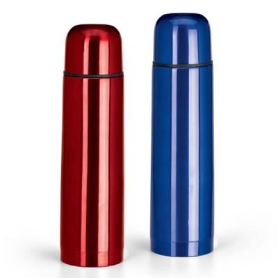 Bouteille isotherme thermos personnalisé métal couleur 490 ml publicitaire