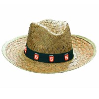 Chapeau en paille publicitaire personnalisé pas cher et petite quantité
