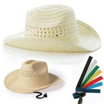 Chapeau de cowboy personnalisable poublicitaire