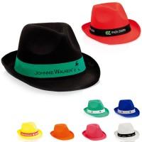Chapeau personnalisé publicitaire Braz Coloris : noir blanc bleu rouge jaune orange vert