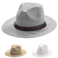 Chapeau personnalisé publicitaire forme classique coloris : gris blanc naturel