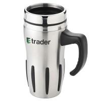 Mug isotherme personnalisé double paroi avec poignée Travel mug publicitaire