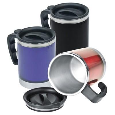 Mug isotherme personnalisé pour camping randonnée ou mug de voyage