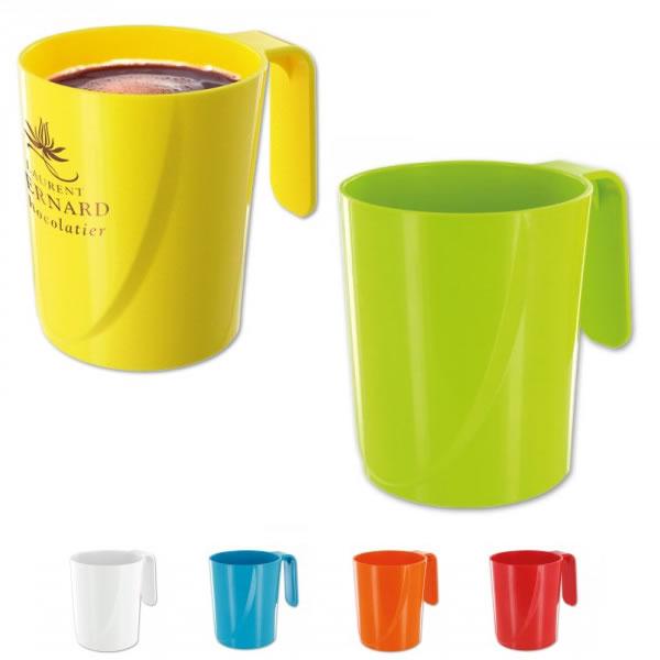 mug plastique 350 ml objet publicitaire gourde mug isotherme goodies personnalis. Black Bedroom Furniture Sets. Home Design Ideas