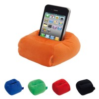 Support de téléphone portable pour bureau personnalisé publicitaire. Coloris : noir, bleu, vert, rouge