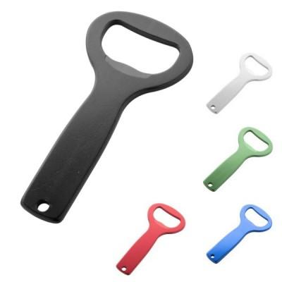 Décapsuleur personnalisable en aluminium Limonadier professionnel publicitaire personnalisé : argenté, noir, bleu, vert, rouge