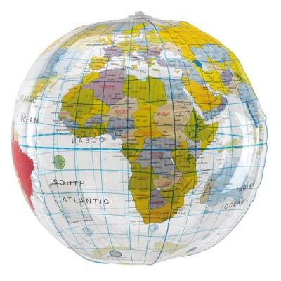 Ballon gonflable globe terrestre personnalisé publicitaire. Ballon gonflable géant carte du monde terre