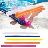 Frite gonflable publicitaire personnalisable, coloris blanc, bleu, jaune, orange, rose