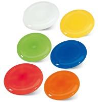 Frisbee publicitaire personnalisable, coloris : blanc, bleu, vert, jaune, orange, rouge