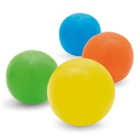 Ballon gonflable personnalisé publicitaire opaque, coloris : bleu, vert, jaune, orange