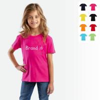 Tee-shirt enfant personnalisable t-shirt couleur enfant publicitaire