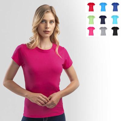 tee-shirt femme personnalisable couleur t-shirt femme publicitaire 190 gr