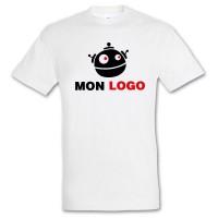 Tee-shirt blanc enfant personnalisé Regent Sol's 150 Grs. T-shirt publicitaire