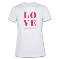 Tee-shirt blanc femme publicitaire Imperial Sol's 190 Grs. T-shirt blanc femme personnalisé.