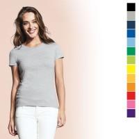 Tee-shirt femme publicitaire Impérial Sol's 190 Grs. T-shirt personnalisé, coloris : noir, gris, bleu marine, bleu royal, bleu clair, jaune, orange, orange clair, rouge, rose, violet