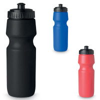 Gourde 700 ml personnalisable et publicitaire grande gourde noir bleu ou rouge pour cycliste