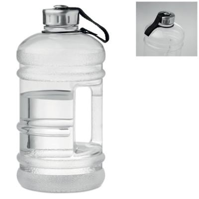 Grand bidon d'eau 2 Litres personnalisé avec poignée