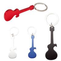 Goodies porte-clés guitare décapsuleur publicitaire pas cher