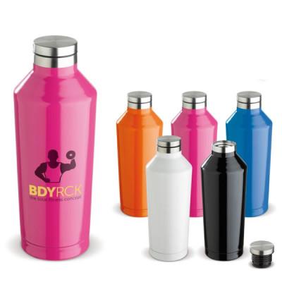 Bouteille isotherme thermos 500 ml coloré personnalisé publcitaire