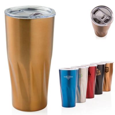 Mug isotherme thermos personnalisable doré pas cher
