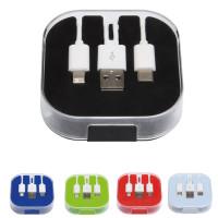 cable chargeur multi USB type c personnalise objet publicitaire goodies