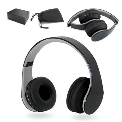 Casque audio bluetooth pliable personnalisable publicitaire