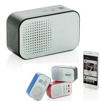 Haut parleur Bluetooth rétro personnalisé publicitaire