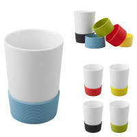 Mug publicitaire pas cher bande de silicone couleur personnalisable