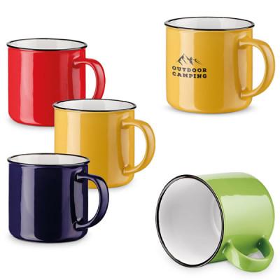Mug vintage personnalisable logo publicitaire