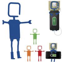 Support smartphone personnalisé publicitaire prise éléctrique chargeur