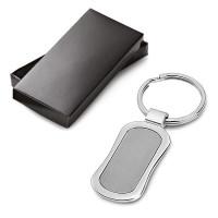 Porte-clés métal pour gravure logo