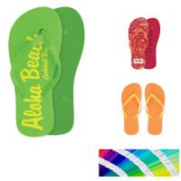Tong couleur sur mesure personnalisé logo goodies publicitaire
