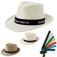 Chapeau mariage personnalisé chapeau paille publicitaire