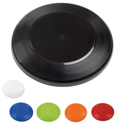 Frisbee personnalisé publicitaire noir, blanc, bleu, vert, orange, rouge