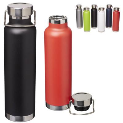 Bouteille thermos isotherme publicitaire personnalisable en acier 650 ml
