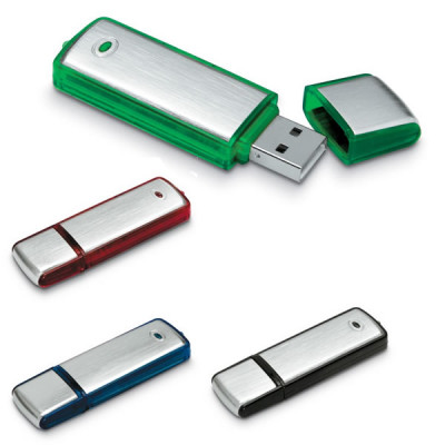 Clé USB en métal ABS avec LED personnalisable publicitaire