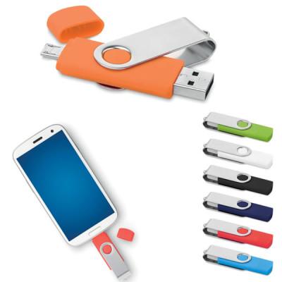 Clé usb avec micro USB publicitaire personnalisable