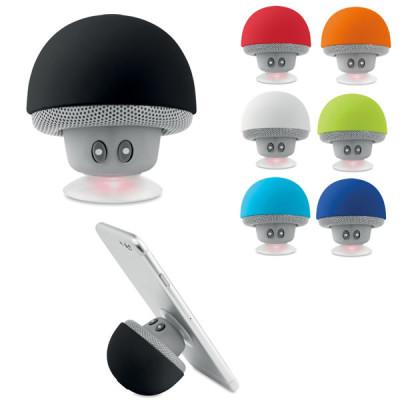 Enceinte Bluetooth support de téléphone forme champignon personnalisé goodies