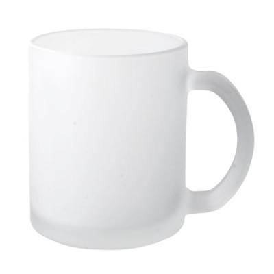 Mug en verre frosty Objet publicitaire Goodies