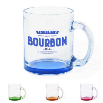 Mug en verre personnalisé logo entreprise Objet publicitaire