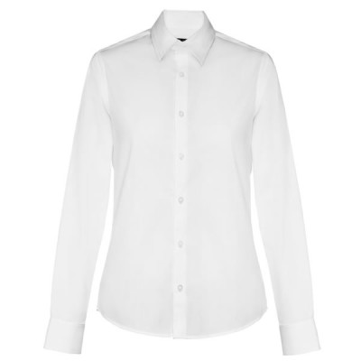 chemise popeline blanche femme personnalisable broderie