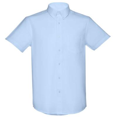 chemise oxford bleue homme personnalisable publicitaire