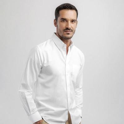 chemise oxford homme manches longues personnalisé publicitaire